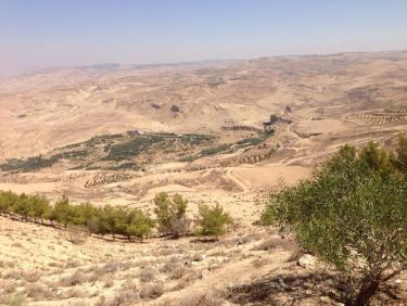 Capturing the blessings,love and light of sum of the great prophets and Allahs companions In this Holy land. Simply abundant! This is mount Nebu where Musa was guided to the holy land.