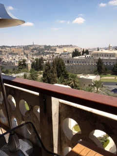 Al-Quds view from the top