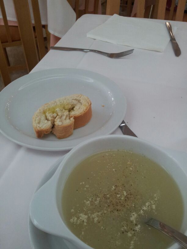 Blessing of sharing Soup and Bread