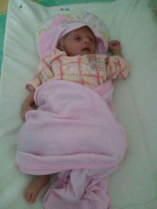 My little Girl was shifted to NICU
